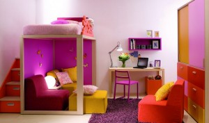 Purple-Children-Bedrooms-Set
